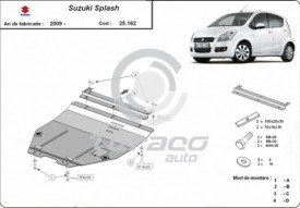 Scut motor metalic Suzuki Splash
