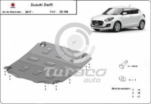 Scut motor metalic Suzuki Swift