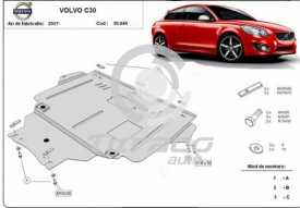 Scut motor metalic Volvo C30