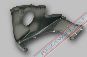 Scut plastic motor stanga Seat Ibiza III