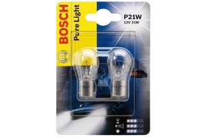 Set de 2 becuri P21W 12V 21W BA15s (BLISTER)