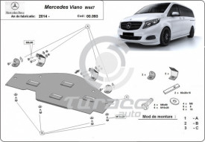Scut metalic pentru sistemul Stop and GO Mercedes Viano W447