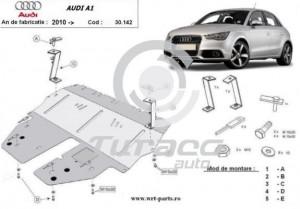 Scut motor metalic Audi A1