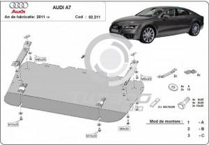 Scut motor metalic Audi A7