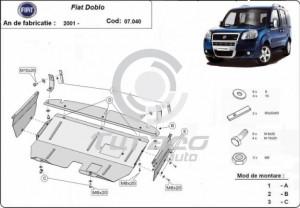 Scut motor metalic Fiat Doblo