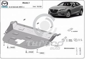 Scut motor metalic Mazda 3