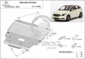 Scut motor metalic Mercedes B-Class W246