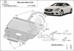 Scut motor metalic Mercedes CLA X117