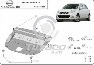 Scut motor metalic Nissan Micra