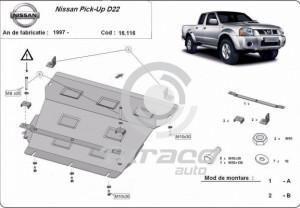 Scut motor metalic Nissan Pick Up D22