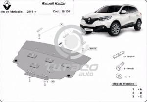 Scut motor metalic Renault Kadjar