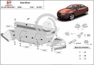 Scut motor metalic Seat Exeo