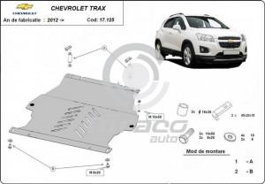 Scut motor metalic si cutie de viteza Chevrolet Trax