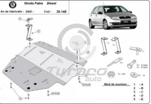 Scut motor metalic Skoda Fabia - Diesel