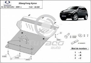 Scut motor metalic SsangYong Kyron