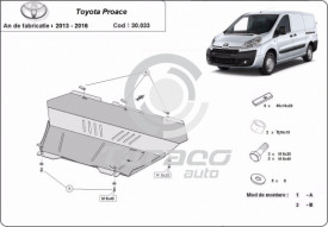 Scut motor metalic Toyota Proace