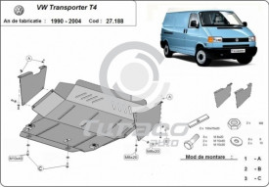 Scut motor metalic Volkswagen Transporter T4 Caravelle