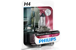 Bec H4 24V 75/70W P43t MASTER DUTY (BLISTER)