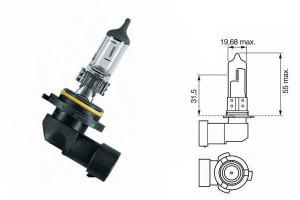 Bec HB4 12V 51W P22d