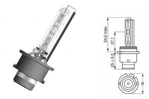 Bec Xenon D2S 12/24V 35W P32d-2