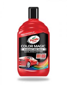 Ceara lichida Color Magic Radiant Red Turtle 500ml