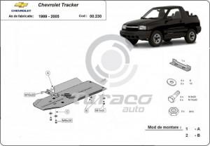 Scut cutie de vitez? Chevrolet Tracker