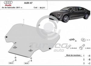 Scut metalic cutie de viteza Audi A7