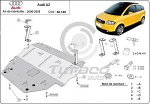 Scut motor metalic Audi A2