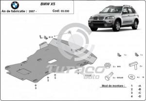 Scut motor metalic BMW X5 E70 / F15