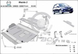 Scut motor metalic Mazda 2