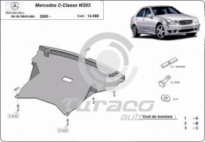 Scut motor metalic Mercedes C-Class W203
