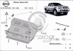 Scut motor metalic Nissan Navara D22