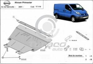 Scut motor metalic Nissan Primastar