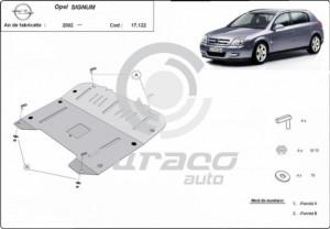 Scut motor metalic Opel Signum