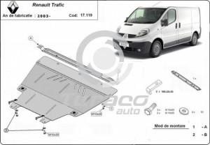 Scut motor metalic Renault Trafic
