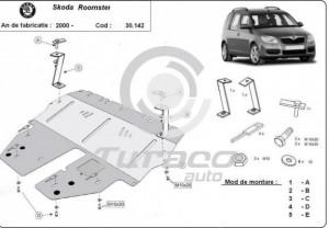 Scut motor metalic Skoda Roomster