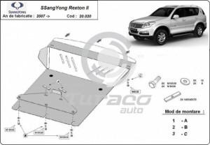 Scut motor metalic SsangYong Rexton II
