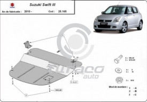 Scut motor metalic Suzuki Swift III