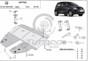 Scut motor metalic Volkswagen Fox