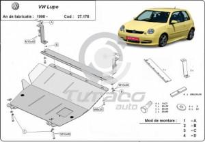 Scut motor metalic Volkswagen Lupo