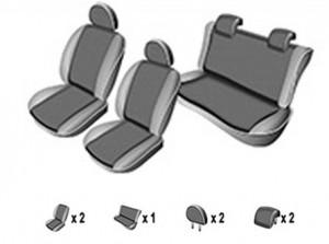 Set huse scaune Hyundai Accent 2010 - 2021