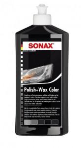 Lotiune pentru ceruit si lustruit negru Sonax 500 ml