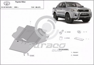 Scut cutie de viteza, diferential si filtru particule Toyota Hilux