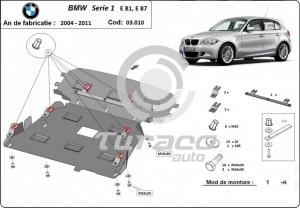 Scut motor metalic BMW Seria 1 E81/ E87