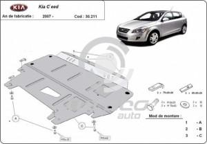 Scut motor metalic Kia C'eed