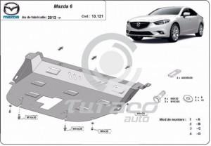 Scut motor metalic Mazda 6