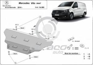Scut motor metalic Mercedes Vito W447