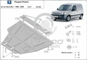 Scut motor metalic Peugeot Partner