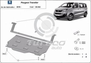 Scut motor metalic Peugeot Traveller