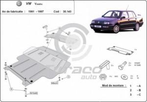 Scut motor metalic Volkswagen Vento